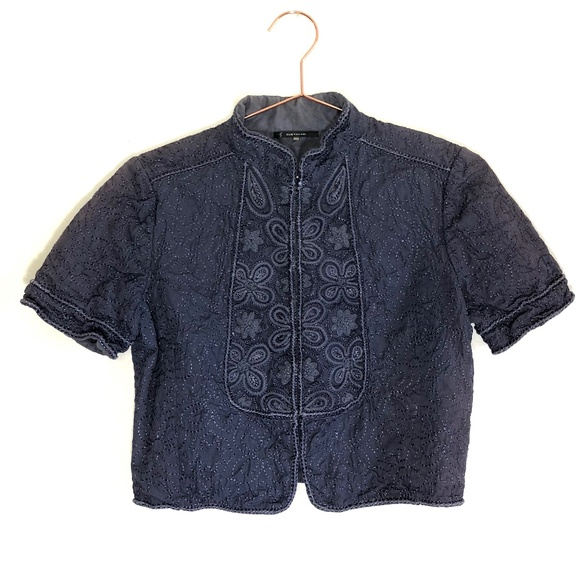 68d68177b7704 Elie Tahari Tops - 2 for $15!! {Elie Tahari} Embroidered Jacket